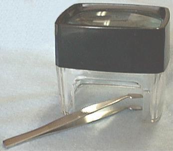Magnifier and Tweezers Set