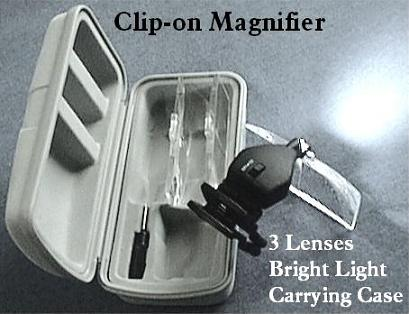 Clip-on Surgical Magnifier