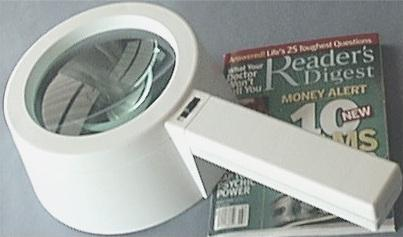 5 inch 5X Lighted Magnifier