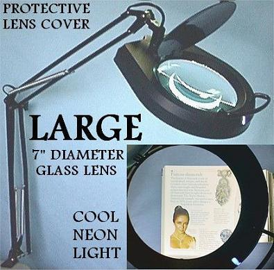 Desk Lamp/Magnifier