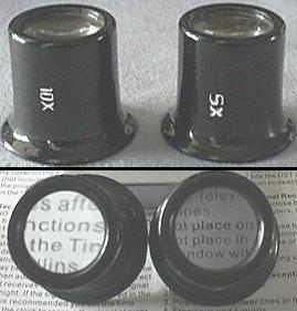 5X & 10X Classic Eyeloupe Set