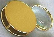 Gold Plated Desktop Loupe