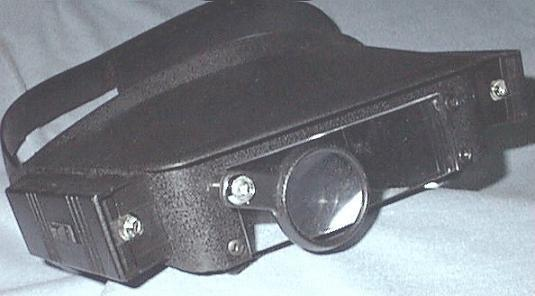 Lighted Headstrap Magnifier