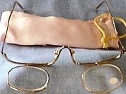 Makeup Glasses, both Lenses Down