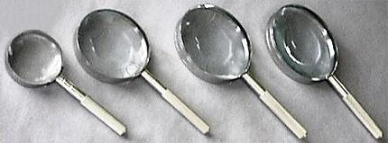 Metal Frame Clasic Magnifiers. Full Set
